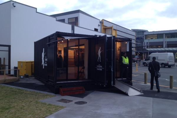 20 FT Shipping Container Retail Unit conversion