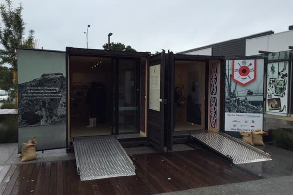 20FT Shipping Container Exhibition Nga Ti Awa