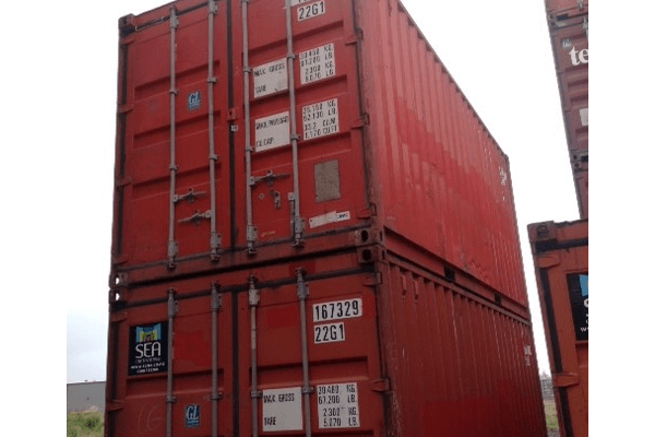 20 Foot Shipping Container used or B grade Lyttelton.JPG