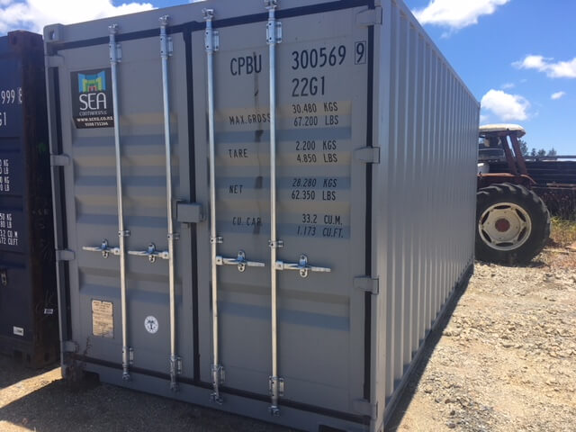 SEA Containers 20' Shipping Container - A Grade