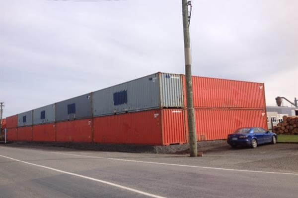 Shipping Container Acoustic Barrier