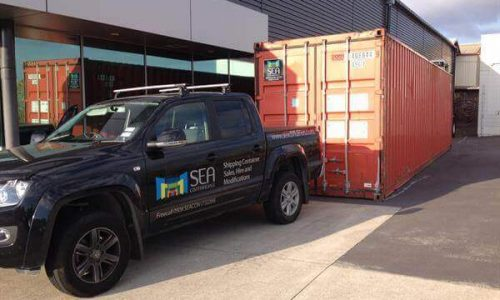 40' Shipping Container Gisborne